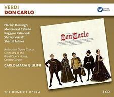 Carlo Maria Giulini - Verdi: Don Carlo (NEW 3CD)