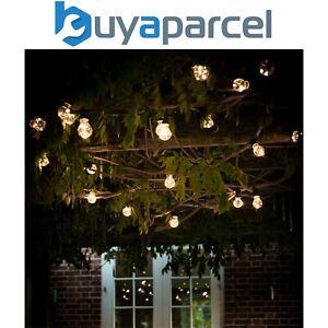 Garden Trading Classic Festoon Bulb String Lights Mains Garden 20 Lights LAFE02