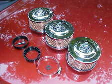 Custom 3 deuce air cleaners,97s/94s/rochesters,rat rod,spinner nuts,2&5/8,2&5/16