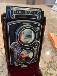 Rolleiflex 3.5G Xenotar Camera Purchased 4/19/57 Original Owner
