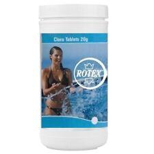 Tricloro 1 kg per piscina cloro 90% 20 gr pasticche pastiglie piccole - Rotex