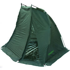 Carp Fishing Green Bivvy Day Shelter BagBivvy Pegs & Groundsheet Included DY