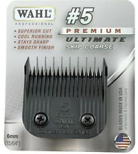 Wahl Ultimate Competition Series #5 Clipper Blade-A5, Fits Oster, Wahl & Andis