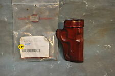 Don Hume Brown H715-M 40-4  LH w/clip IWB Leather Holster  J168145L S&W