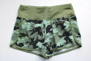 Justice Active Girls' Size 8 Camouflage Patterned Running with Mesh Inserts