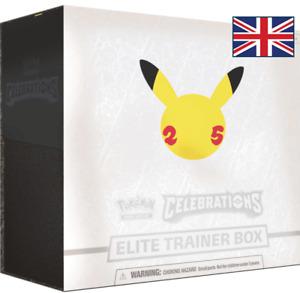 Pokémon TCG: Celebrations Elite Trainer Box - Anglais