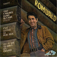 ROMUALD TOUT S'ARRANGE QUAND ON S'AIME FRENCH ORIG EP MICHEL COLOMBIER