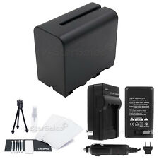 NP-F970 Battery + Charger + BONUS for Sony CCD-DC55 DC65 TR3000 TR3300 TR516