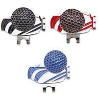 Perfeclan Golf Bag Pattern Hat Clip Magnetic Golf Ball Marker Personalized