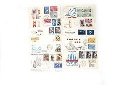 FRANCOBOLLI 1965 REPUBBLICA 11 FDC ANNATA Z/5000
