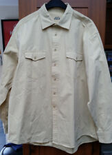 Mens Austin Reed Sport Long Sleeved Shirt Size XL - Yellow
