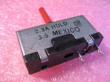 Reset Button LittelFuse 230 815 Series 2.3A Hold 3.5A Television TV - NOS Qty 1