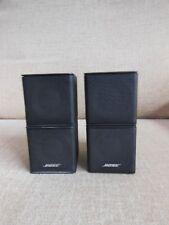 2 x  Bose Premium Lifestyle Jewel Cube Speakers. Good Working Order