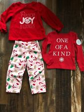CARTER'S Holiday Set For Little Girl Size 4T