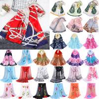 Fashion Women Ladies Chiffon Dot Print Scarf Soft Wrap Long Shawl Scarves Stole