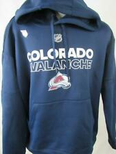 Colorado Avalanche Mens XL Pullover Performance Hooded Sweatshirt ACAV 70