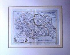 IL PATRIMONIO DI S. PIETRO -Tarquinia-Vejo-Civitavecchia-cartina 1794-Rif. 255 V