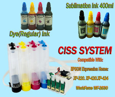 CISS Continuous Ink Supply System for Epson Workforce WF-2630,XP-420,424,320