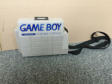 Retro Nintendo Gameboy Portable Carry Case Hard Plastic Carry-All Case