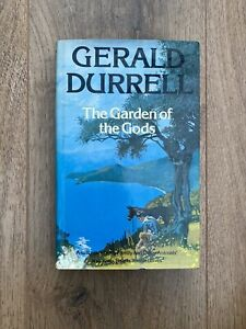 Gerald Durrell - The Garden of the Gods - First Edition hard back book