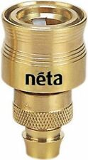 Neta Solid Brass Hose Connector 12mm Click-on 145055