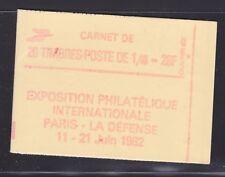 FRANCE CARNET 2154-C1a ** MNH carnet fermé, conf. N° 8, cote: 34  €