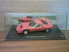 IXO Hachette , voiture coupe sport course Lamborghini Miura Jota 1970 1/43