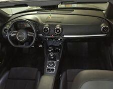 Audi A3 S3 RS3 Sportback Cabrio 8V Lüfterdüsen 4 Zierringe Dekoreinlage