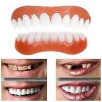 Silikonfurniere Gefälschte Falsche Weiße Zähne Simulation Kosmetische Prothese
