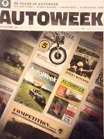 Autoweek Magazine Pete Lyons Returns 60 Years Of AW July 16, 2018 120818nonrh