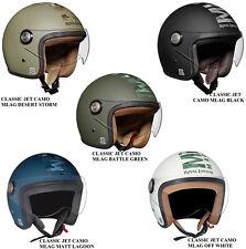 Genuine Royal Enfield Open Face Classic JET CAMO MLAG Helmet 5 Designs