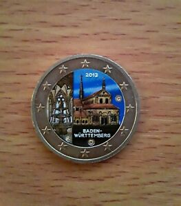 """2 euro couleur Allemagne 2013- """"Baden-Wurttemberg"""""""