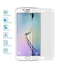 Protector de Cristal Templado Curvo 3D para Samsung Galaxy S7 Edge Color Blanco