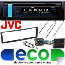 RENAULT Clio mk3 2005-2014 JVC CD mp3 USB RDS AUX STEREO PER AUTO GRUPPO Fascia & Kit