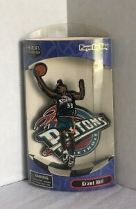 NBA Player Key Ring Grant Hill Heroes Of the Locker Room