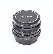 Konica Hexanon AR 28mm f/3.5 Lens