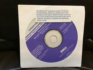 Already Installed Reinstallation CD Microsoft Windows XP Home Edition Pack 2
