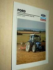 Prospectus Tracteur FORD NEW HOLLAND 4830   Tractor Traktor Prospekt Brochure