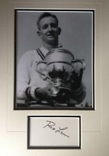 ROD LAVER-Australian Tennis Legend-Excellent Signed Photo Display