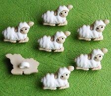 Tiny Baby Pecora Agnello Fattoria Pasqua Natività Natale dress It Up Bottoni Craft