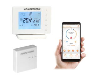 Computherm E400RF Wi-Fi Room Thermostat With Remote Controller and Phone App