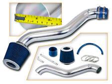 BCP BLUE 97-01 Prelude 2.2L L4 Short Ram Air Intake Induction Kit + Filter