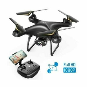 SNAPTAIN SP650 - POWERFUL & SMART DRONE For Adults! 1080P Camera HD Live Video