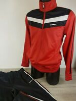 Mens Donnay Casual Training Poly 2 Piece Tracksuit Zip Jacket Bottoms XS B521