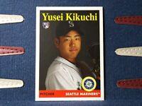 2019 Topps Archives #25 Yusei Kikuchi RC 1958 Rookie Seattle Mariners