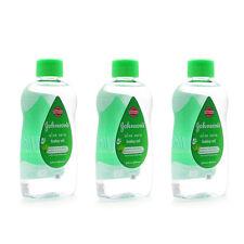 New Johnson's Baby Oil Aloe Vera 300ml 3 Pack