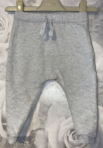 Boys Age 9-12 Months - M&S Grey Jogging Bottoms