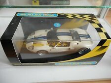 Slot Car Scalextric Ford GT 40 in White on 1:32 in Box