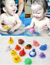 13pcs Infant Baby Girl Boys Kids Bathing Developmental Toys Water Game Dabble