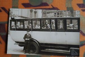 1932 Foto 1.3 / Ak Hamburg Rundfahrten Friedrich Fischer Bus